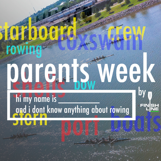 Sept 19 - Parents Week - boats explained    Finish Line Rowing